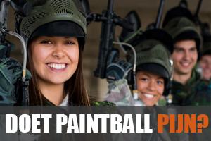 Doet paintball pijn